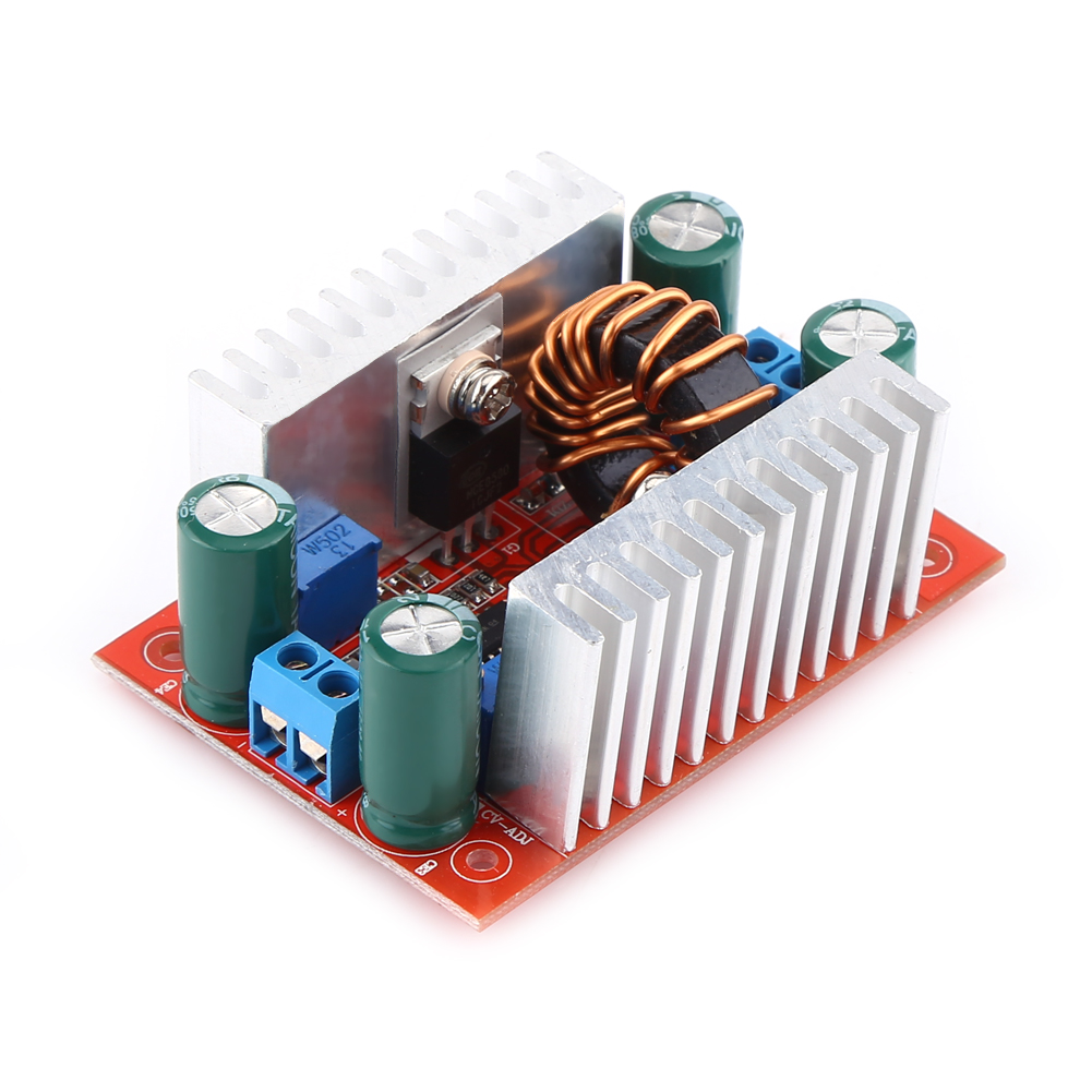 <font><b>DC</b></font>-<font><b>DC</b></font> <font><b>400W</b></font> 15A Module Step-Up Boost Converter Constant Current Power Supply LED Driver 8.5-50V To 10-60V Voltage Charger image