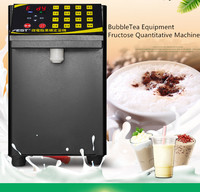 자동 8l bubbletea 장비 fructose 정량 기계 fructose 디스펜서 110 v/220 v