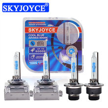Skyjoyce 2021 novo hid xenon d1s d2s d3s d4s lâmpada do carro 35w 5500k alta brilhante branco xenon farol super d1s hid lâmpadas