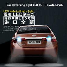 Car Reversing light LED FOR Toyota LEVIN T15 9W 5300K Retreat Auxiliary Bulb LEVIN Car Light Refit цена в Москве и Питере