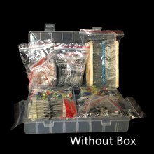 Film-Resistor Assortment-Kit Electrolytic-Capacitor-Ceramic-Set Led-Diodes Diy Metal