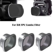 For DJI FPV Combo Filter Drone UV/CPL/NDPL4/8/16/32 Set Neutral Density Polar Filters Kit Camera Accessories Quadcopter 6pcs/8pc