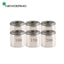 NEWDERMO 5 PCS Cylindrical Microdermabrasion Tips For Multi Function Diamond Exfoliating Skin Rejuvenation Salon Beauty Machine