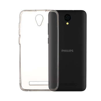 цена на Soft TPU Case For Philips S260 Back Cover Silicone TPU Protective Phone Cases For Philips S260 TPU Case Cover Funda