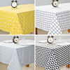 1PCS Printed Tablecloth Wedding Blue Red Stripe Tablecloths Red Plaid Home Kitchen Dinning Table Cloth Cover