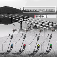 뜨거운 판매 낚시 물린 경보 내마 모성 4pcs 낚시 스윙 어 세트 낚시 물린 LED 조명 스윙 신호 수신기