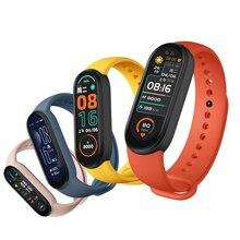 2021 M6 Smart Watch Band Bracelet Heart Rate Blood Pressure Calorie Monitor Waterproof Step Sport Smartwatch Fitness Wristband