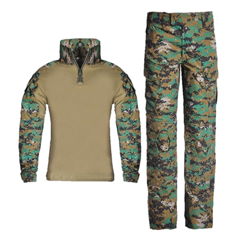 Kids Combat Pants And Shirts Suit Army Military Uniform BDU Military Tactical Gear Hunting Multicam For Children