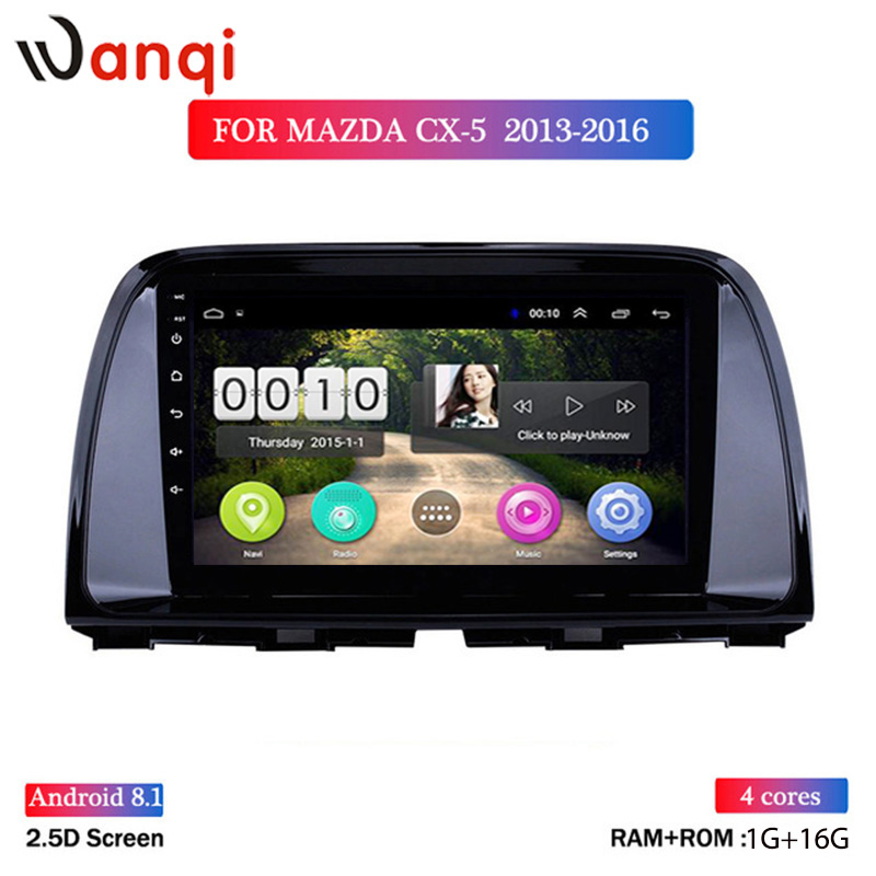 android 8.1 car dvd 9 inch For <font><b>Mazda</b></font> <font><b>CX5</b></font> CX-5 CX 5 2013-2016 radio multimedia player stereo gps <font><b>navigation</b></font> support wifi swc image