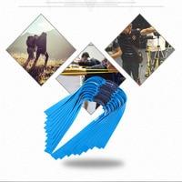 3 pçs banda de borracha plana estilingue poderoso elástico banda de borracha plana prática caça esportes estilingue borracha|Arco e flecha| |  -