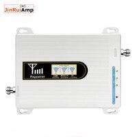 AMPLIFICADOR DE señal móvil con 3G y 4G  ganancia de 70dB  amplificador de señal móvil para GSM 900MHz + DCS LTE 1800MHz + WCDMA UMTS 2100MHz con LCD