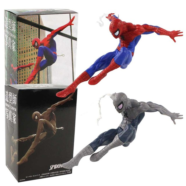 6pcs Spiderman Different Action Figure Decoration Collectible For Kid Gift 4-5CM