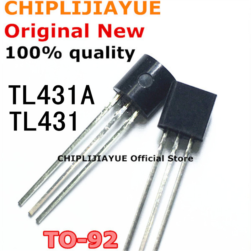 50PCS TL431A TO92 TL431 TO-92 431 New And Original IC Chipset