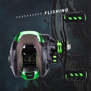 Fishing Reel 7.1:1 High Speed Gear Ratio Spinning Reel Left Right Aluminum Spool Handle Fishing Wheel Fishing Reel Accessories