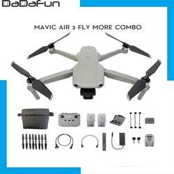 In Stock DJI Mavic Air 2 /Mavic Air 2 fly more combo drone with 4k camera 34-min Flight Time 10km Newest