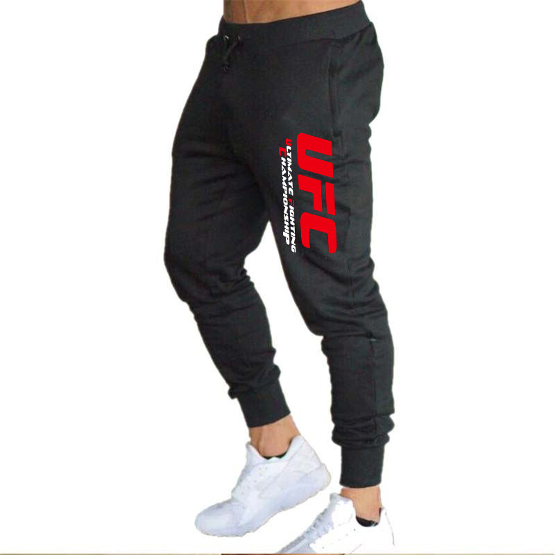 Ultimate Fighting Championship Athletic Pants Men's Fighting Fitness Running Loose Casual Trousers UFC Ouma Training Pants