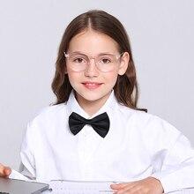 Голубые световые блокирующие очки компьютерные очки с прозрачными линзами UV400 Анти-глазное напряжение для подростков детей мальчиков девочек