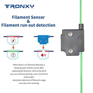 Image 2 - 2020 Tronxy X5SA 24V nuova stampante 3D aggiornata kit fai da te piastra di costruzione in metallo Touch Screen LCD da 3.5 pollici livellamento automatico ad alta precisione