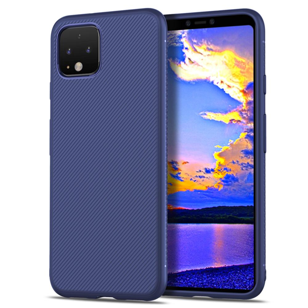For Google Pixel 4 4 XL Case Soft Silicone Shockproof Rugged Matte Textured Slim TPU Cover For Google Pixel4 Pixel 4A Case Armor