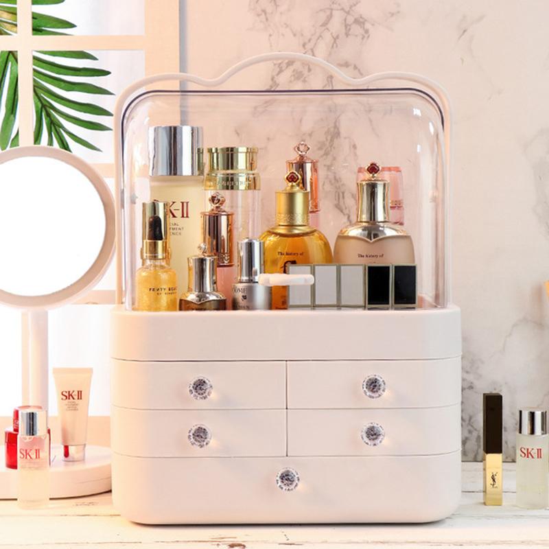 Boîte de rangement maquillage imperméable