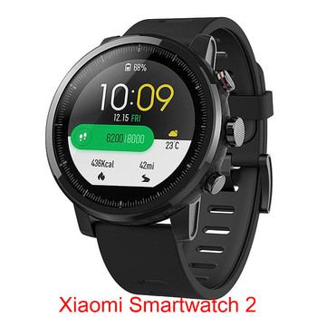 Global Xiaomi Huami AMAZFIT Stratos GPS 5ATM Waterproof Smart Sports Watch 2 512MB/4GB Smartwatch for Android iOS