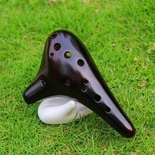Professional 12 Hole Alto C Ocarina Classic Smoked Strawfire Masterpiece Collectible