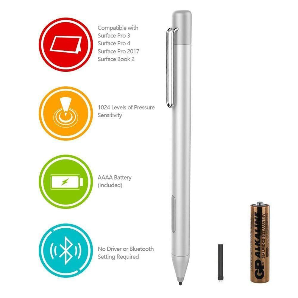 Capacitive Pen Touch Stylus Pen Pencil For Microsoft Surface 3 Pro 3 4 5 Book For ASUS Transformer Mini/3 Pro/3/ZenBook Flip S