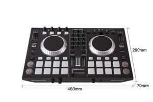 controller to play players playing disc audio mixing console players sound mixer mesa de mezclas dj .DJ mixer