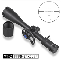 DISCOVERY VT Z 6 24X50SF FFP cost effective first focus optical hunting air rifle scope