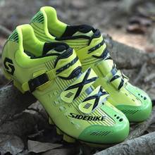 Sidebike cycling shoes sapatilha ciclismo mtb bicicleta SPD pedals Men women self-locking -breathable mountain bike sneakers sidebike cycling shoes road men carbon sapatilha ciclismo mtb bike shoes zapatos bicicleta sneakers self locking white 2019 new