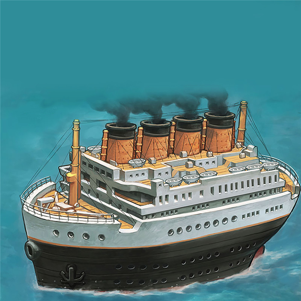 for-mini-moe-001-font-b-titanic-b-font-royal-cruise-q-edition-model-kit-diy-ship-model-assembly-kits-with-withou-wooden-deck