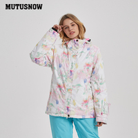 2019 New Hot Printed Ski Suit Men Women Waterproof Skiing Snowboard Jacket Clothing skiingOutdoor Winter Snow Coats