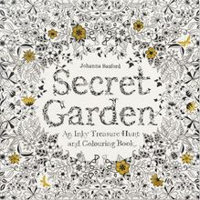 Secret Garden An Inky Treasure Hunt and Coloring Book (for Adults Mindfulness Coloring) Bestsellers cheap GB(Origin) english