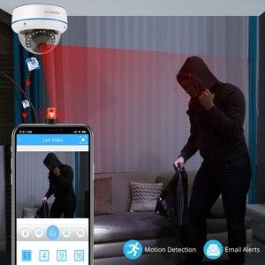 Image 4 - Miecu sistema de cámaras de seguridad de 8 canales H.265, 5,0 MP, cámara domo IP a prueba de vandalismo, CCTV de Audio para interiores, Kit de videovigilancia para el hogar