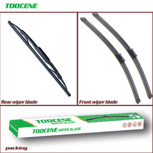 Front and Rear Wiper Blades For Cadillac SRX 2011-2015 windshield Windscreen Wipers Car Accessories 26 #8243 +17 #8243 +12 #8243 cheap toocene natural rubber 2012 2013 2014Year 2015Year 0 3kg clean the windshield TC212 Ningbo China 26+17