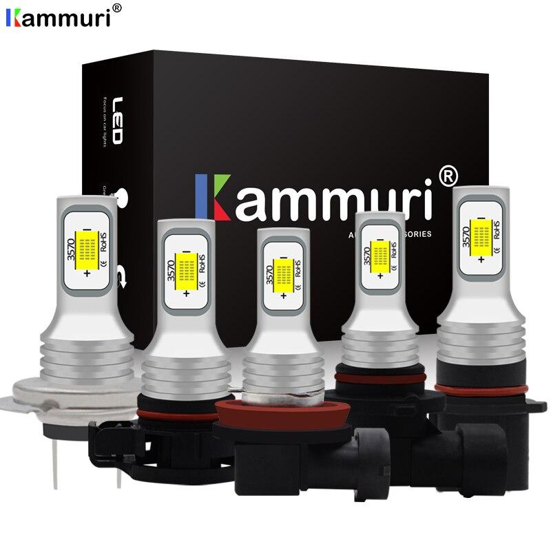 2X No Error Canbus H8 H11 H7 H1 H3 H16 PY24W HB4 9005 HB3 P13W PSX24W PSX26W H27w 880 881 H27w1 H27w/2 LED Daylight DRL Fog Lamp