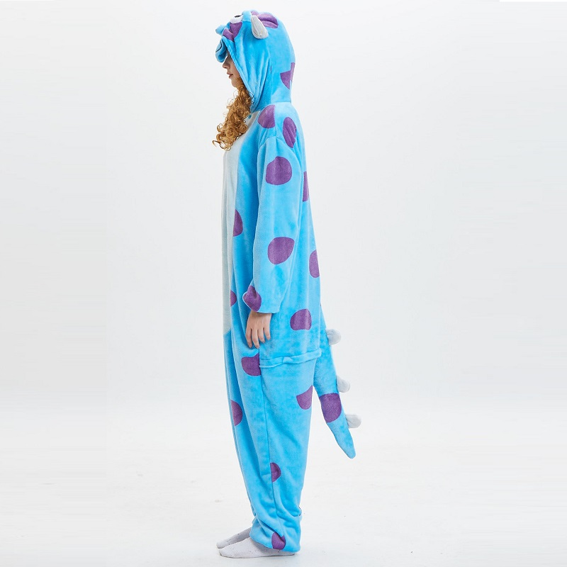 Monster-Inc-Sullivan-Onesies-For-Adults-monstruos-university-Kigurumi-Animal-Pajamas-Flannel-Warm-Long-Sleeve-Hooded (4)