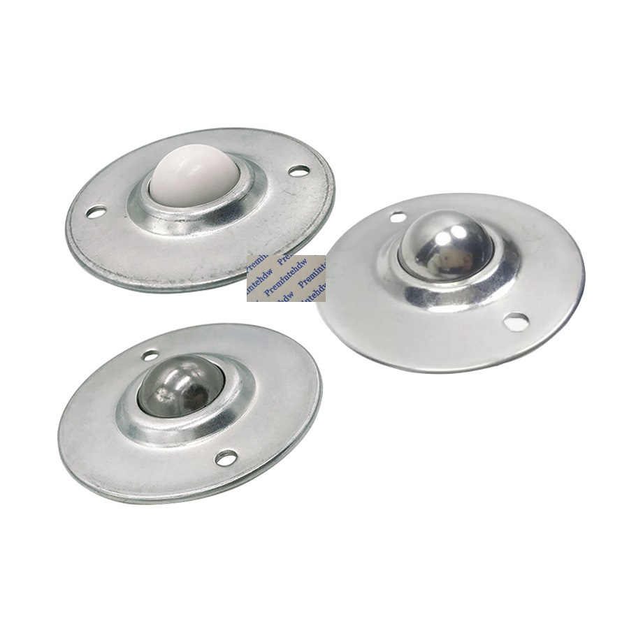 uxcell 2 PCS Flying Saucer Flange Ball Transfer Unit Bearing