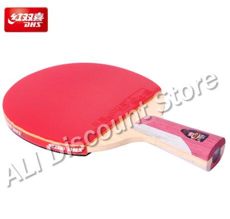 Двойное счастье Dhs ракетка для настольного тенниса Pro T6 звезда ракетка для пинг понга