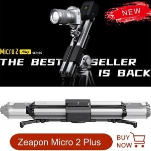 Image 1 - Zeapon بمحركات مايكرو 2 زائد حامل كاميرا متحرك المحمولة السفر المسافة 54 سنتيمتر/21.2in 4.5 كجم كل اتجاه قدرة 39 ديسيبل موتور