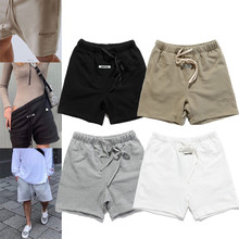 Streetwear Shorts Essentials Fog Reflective Printing Mens Letter 3M High Embroidery Vintage