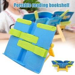 Regulowane półki anty myopia przenośna półka do czytania półka dla dzieci piśmiennicze Student vj drop -