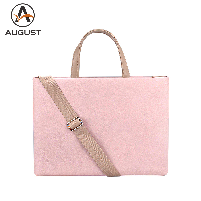 Fashion Women Briefcase 15.4 Inch Laptop Handbag Business Office Bag 13.3 Inch Shoulder Bag For Women Casual Messenger Bag