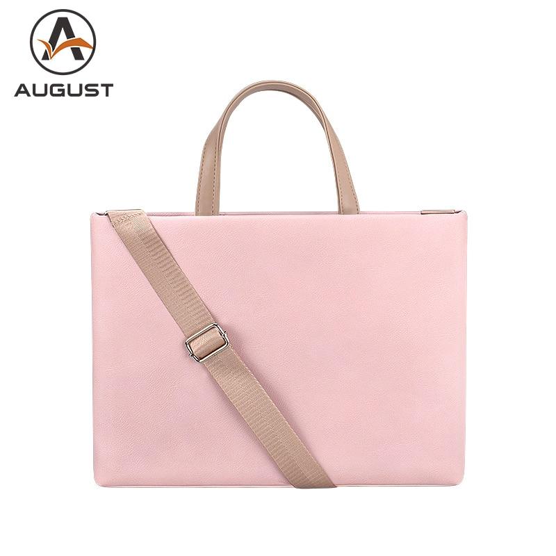 Fashion Women Briefcase 15.4 Inch Laptop Handbag Business Office Bag 13.3 Inch Shoulder Bag For Women Casual Messenger Bag