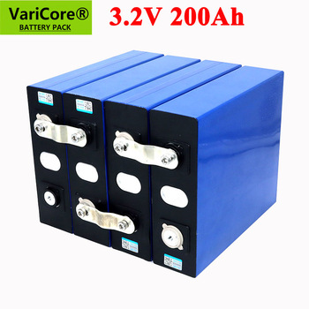 VariCore 3.2V 200Ah LiFePO4 lithium battery 3.2v Lithium iron phosphate battery for 4S 12V 24V 16S battery inverter vehicle RV image