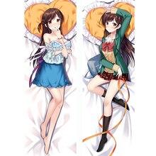 Anime Dakimakura Rent A Girlfriend Mizuhara Chizuru Female Hugging Body Pillow Case Home Bedding Pillow Cover