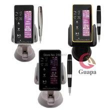 Цифровой микропигментный прибор для бровей, Перманентный макияж, тату машина, ротационная ручка для татуировки, набор для пудры, бровей с эффектом омбре
