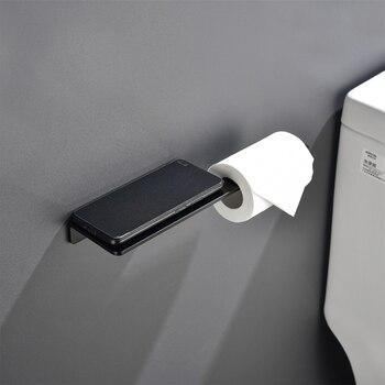Porte Papier Toilette Noir