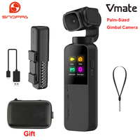Snoppa Vmate Palm Sized 3 Axis Handheld Gimbal Camera 4K Camera 118g Wifi Connection Microphone 90° Rotating Lens