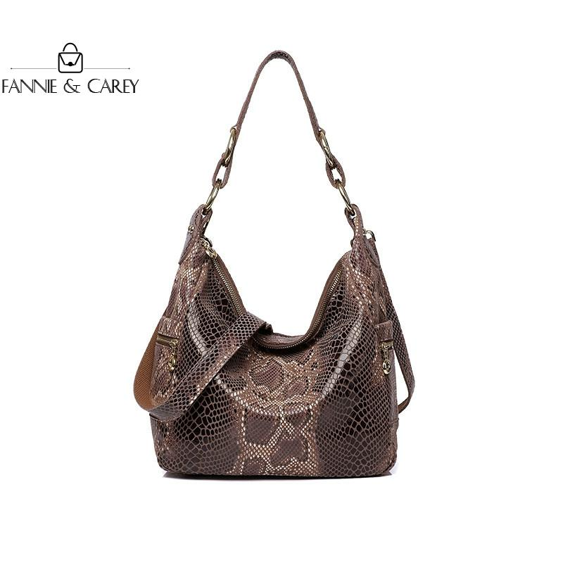 2020 New Luxury Women Bags Leather Shoulder Bag Serpentine womens High Quality Handbag Designer With Chain Lady